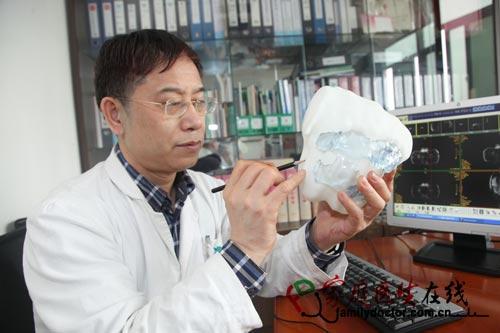 广医三院率先使用3D打印模型 用于子宫切除手术