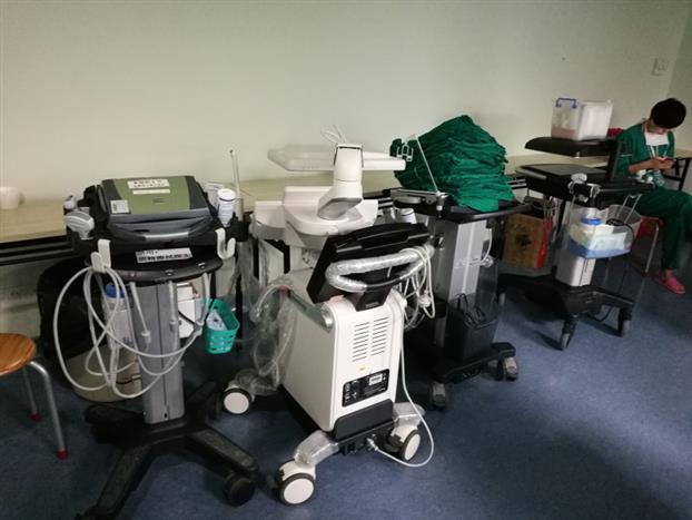 图为可视化麻醉技术相关医疗设备。