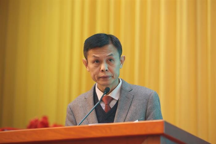 广东省中医药局副局长李梓廉讲话