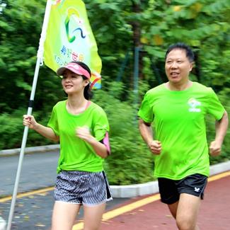 聆听世界峰力公益助跑活动