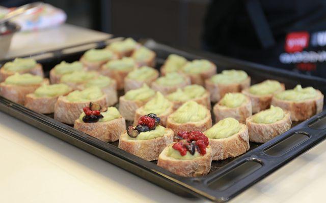 米其林二星大厨现场制作的营养早餐