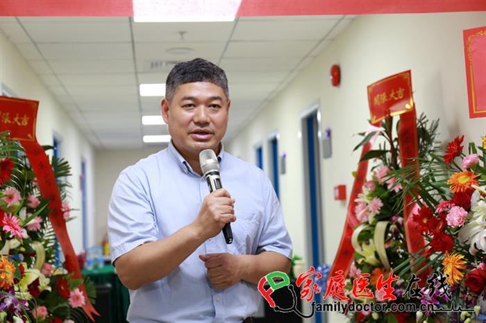 中山大学孙逸仙纪念医院院长宋尔卫教授致辞。