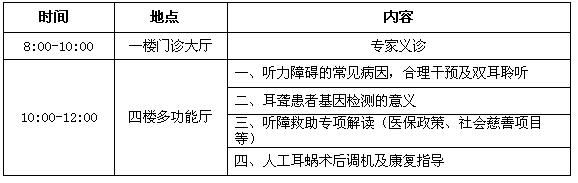 关爱听力健康 3月2日广东省人民医院将举办爱耳日义诊宣教活动
