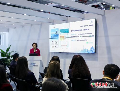 诺和诺德全球高级副总裁兼大中国区总裁周霞萍与媒体分享数字化慢病管理创新