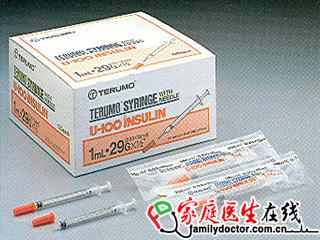 一次性使用胰岛素注射器