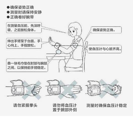 腕带,使用说明书,合格证组成;本体由外壳,按键,集成电路板,气泵,电磁