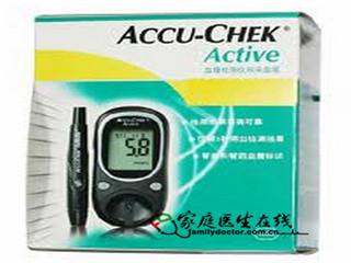 罗氏 罗康全活力型血糖检测仪