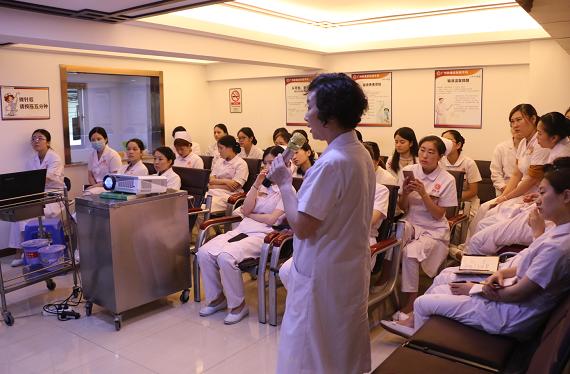 广州肤康皮肤科医院【医院培训】蓝氧医学在皮肤科的应用
