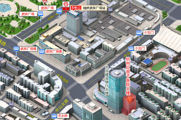 杭州红房子妇产医院地址