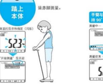 可瑞尔科技 体重身体脂肪测量器