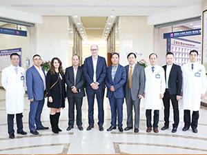上海蓝十字脑科医院美国美圣迪斯医疗国际医疗服务中心CEO来我院考察交流